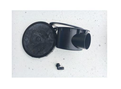 bottenavlopp 110mm avluftare